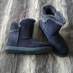 Other - Girls Navy Blue Winter boots size 4